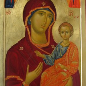 Icoană pictată Maica Domnului 2