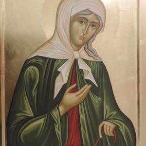 Icoană pictată Sf. Xenia