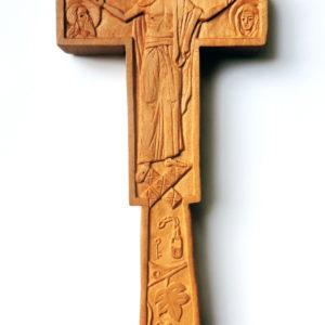 Cruce de mână sau de perete dublă